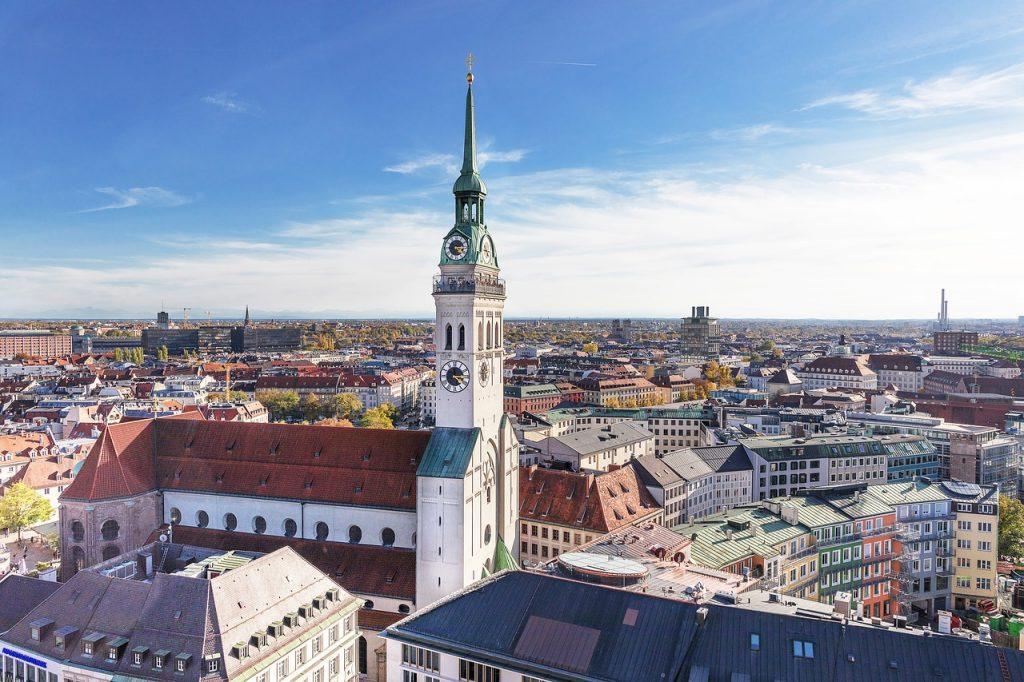 Zusammen verreisen: München