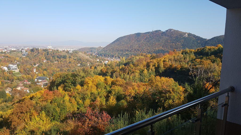 Ausblick Airbnb Rumänien