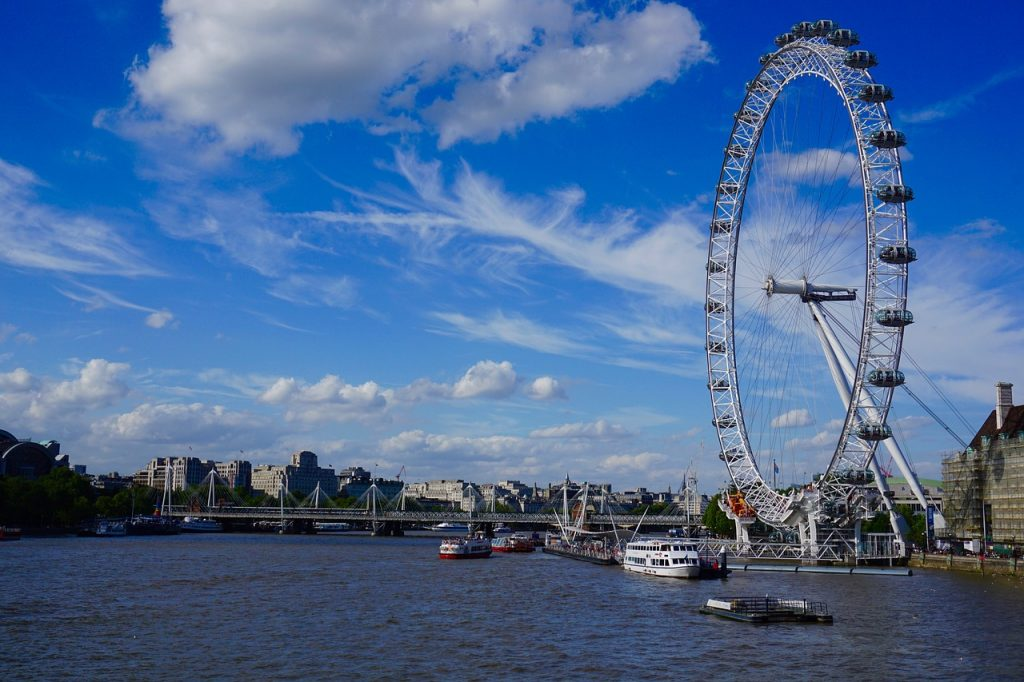 London Eye - London Bucket List