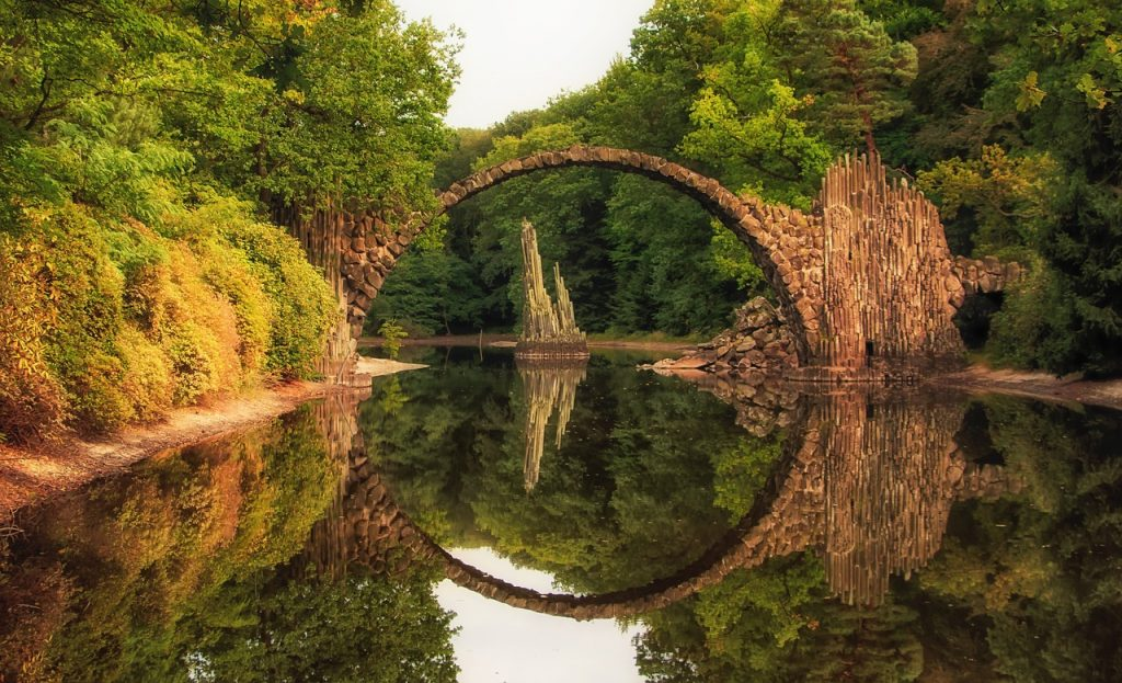 Reiseziele im Juni in Deutschland: Rakotzbrücke