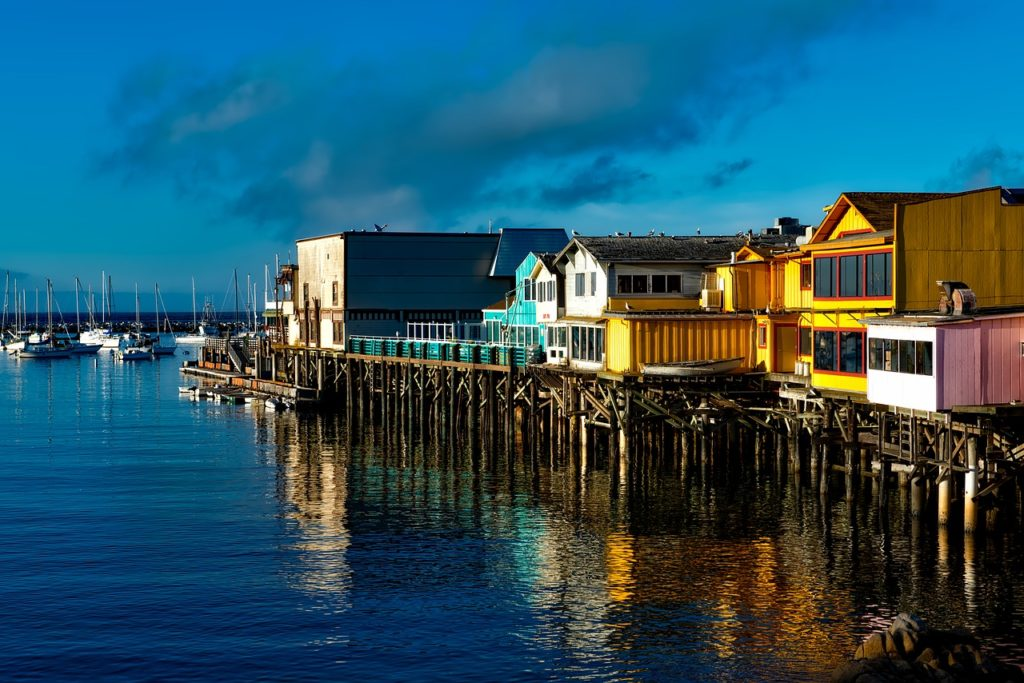 """West Coast tour - There are actually several beaches to choose from in Monterey as opposed to just one """"Monterey Beach"""". The beaches range from small enclaves to wide-open stretches of sand with a brisk Pacific breeze and surf."""