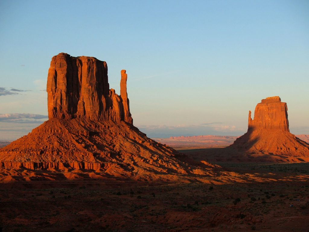 Monument Valley's orange peaks have risen to the status of an icon, the embodiment of quintessential American South West beauty.