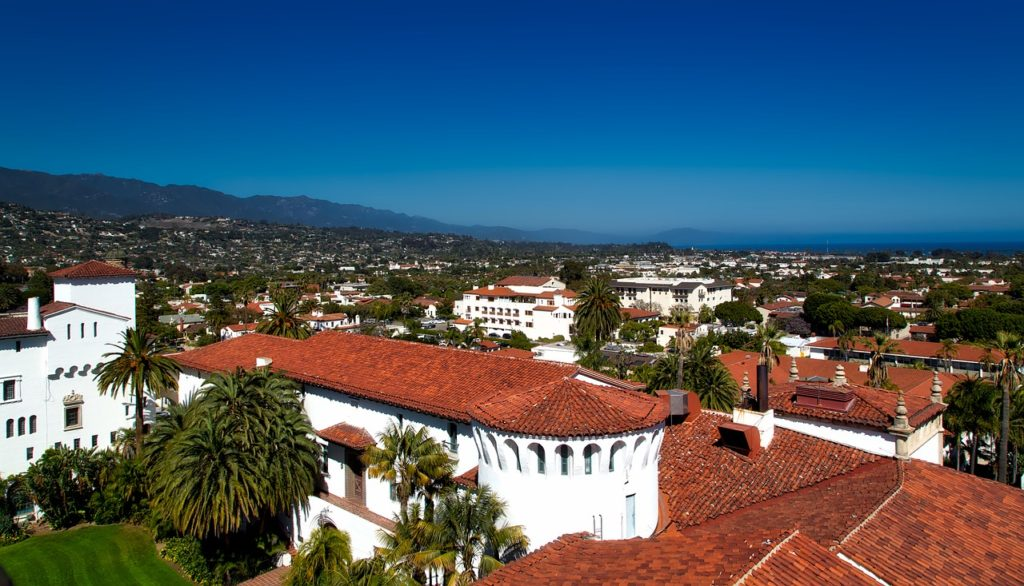West Coast tour - Santa Barbara is called The American Riviera for its Spanish architectural style and amazing coastal views. When you're in the city, you'll notice all the red roofs that make this place so beautiful and unique.