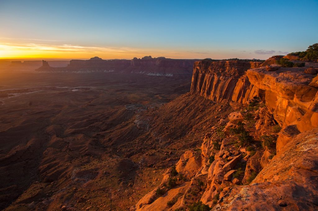 West of the USA - Canyonlands National Park