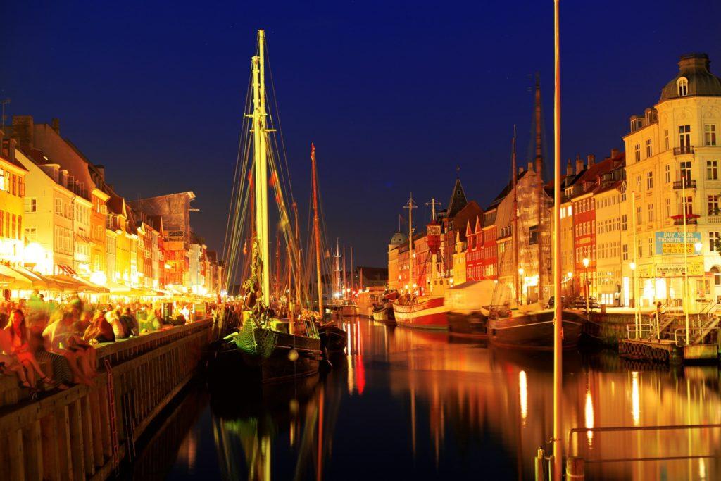 Copenhagen, Denmark in December