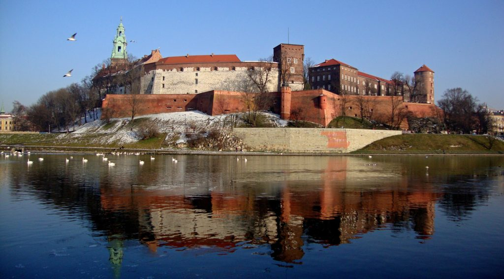 Krakow, Poland in Winter